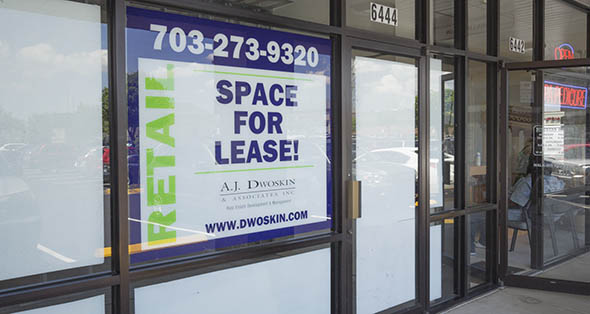 Spaces available for rent at Landsdowne Centre in Alexandria