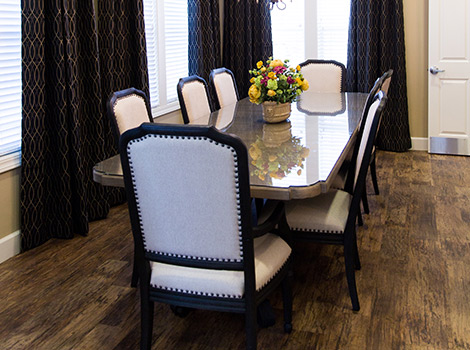 Greenfield estates diningroom