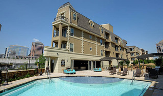 Apartments with custom swimming pool