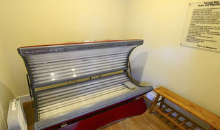 Pg tanning bed at apartments in mo