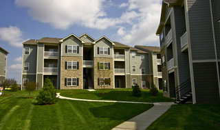 Pg landscaping at apartments in saint peters mo