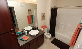 Pg guest bathroom at apartments in saint peters mo