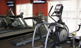 Pg fitness center at aparments in saint peters mo