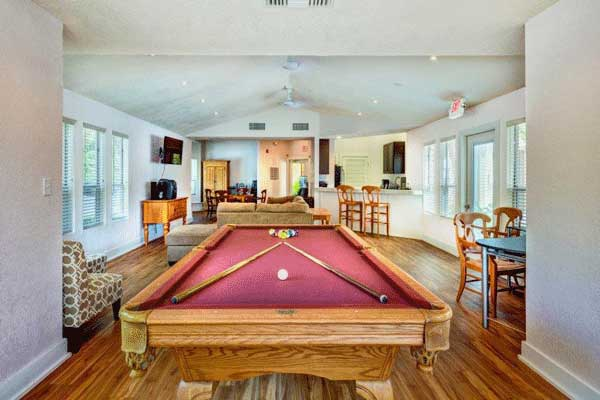 Pool room at our bradenton apartment homes