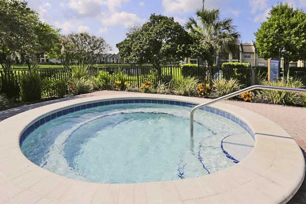 Spa at our bradenton apartment homes