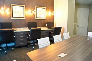 Dominion business center conference table