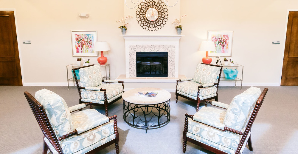 Huge assisted living in spring texas fireplace sitting