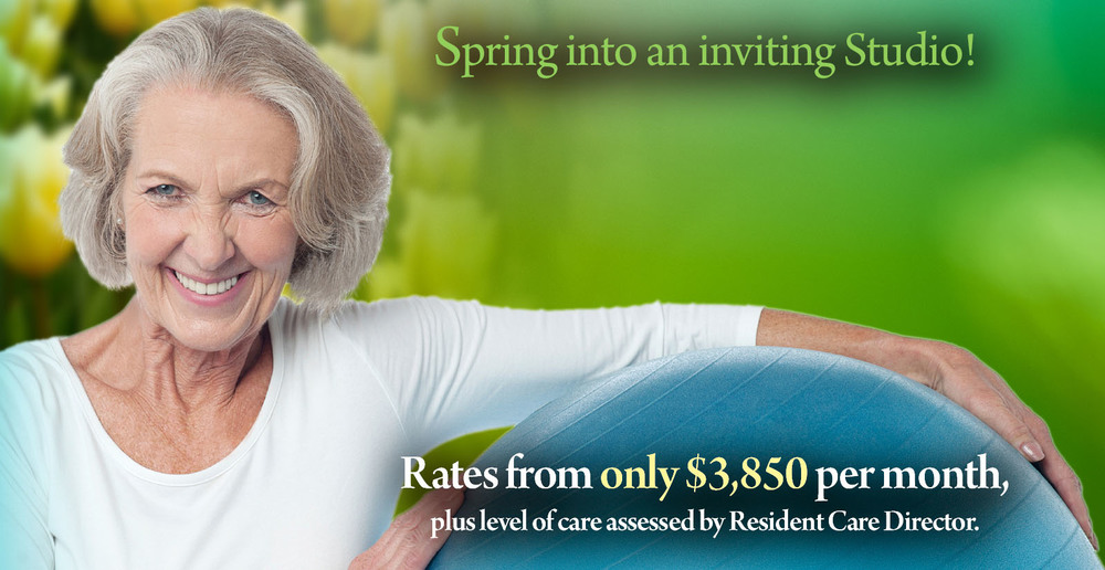 Assisted living irving texas studio specials spring 1