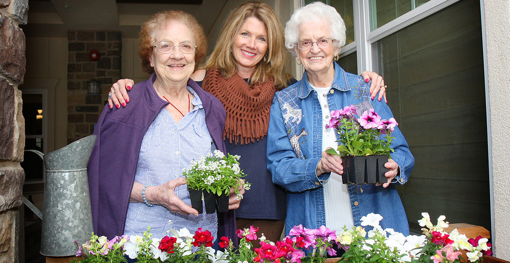 Assisted living irving texas gardening club