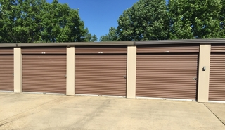 Triangle Self Storage exterior units