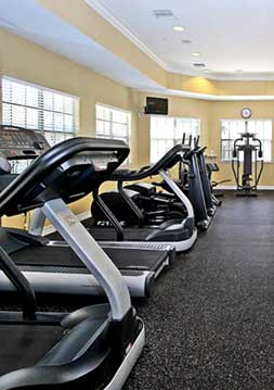 Fitness center at hamlin lake brandon
