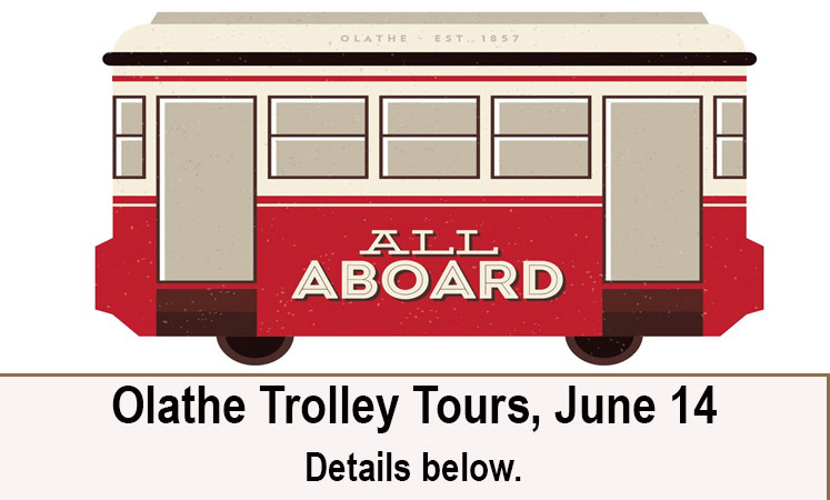 Trolley tours at senior living in