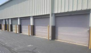 Drive up units at seabrook self storage