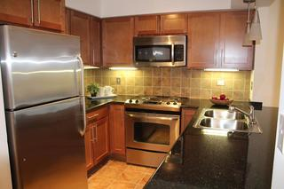 Fully equipped kitchen room