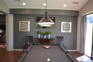 Inverness resident clubhouse pool table