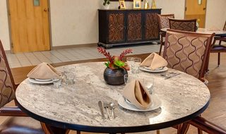 4 st clair skilled nursing dining