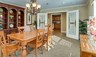11 assisted living private dining room