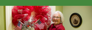 Touchmark edmond resident wreath celebration 7613