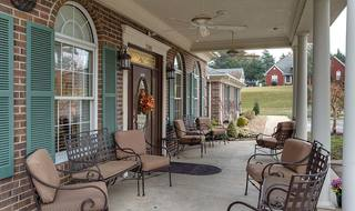 2 milan dogwood pointe assisted living front porch
