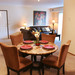 Dining room at Portage Pointe Apartment Homes in Streetsboro, Ohio