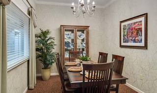 7 madison assisted living private dining room