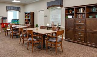 9 madison assisted living gameroom and activities