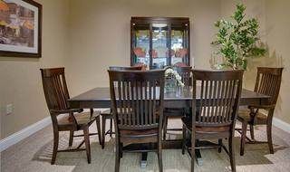 7 private dining room spring hill assisted living