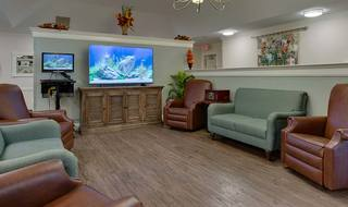 6 spring hill memory care communtiy tv lounge