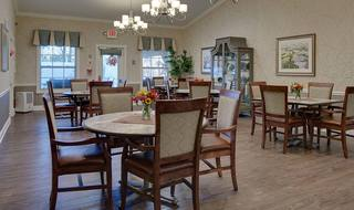 7 willow springs memory care large dining rom