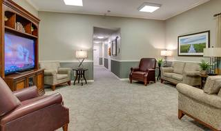 6 northpark village tv loung resident areas
