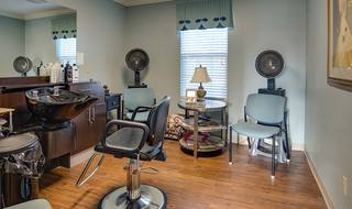 12 assisted living shelbyville on site beauty barber shop