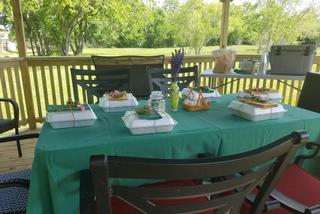 Luncheon gazebo
