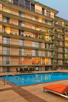 Enjoy a variety of amenities at apartments in San Mateo