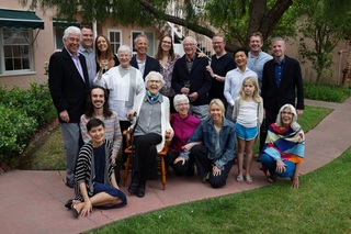 Crowner family 100th party