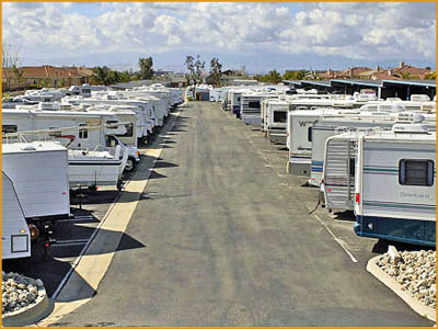 RV Storage in Southern California and New Jersey at Pouch Self Storage