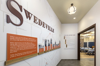 Swede Hill Public House history wall