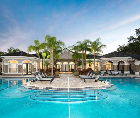 Clearwater apartments for rent at The Grand Reserve at Park Isle have great amenities.