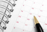 Events calendar at Ladd