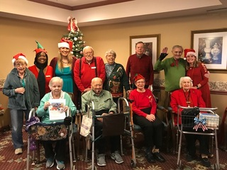 The birches players perform a jack benny christmas live radio show