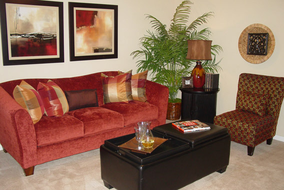Enjoy a spacious, well-designed apartment home at the Abbey in Briar Forest.