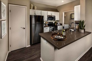 Gs castlerock one bed kitchen