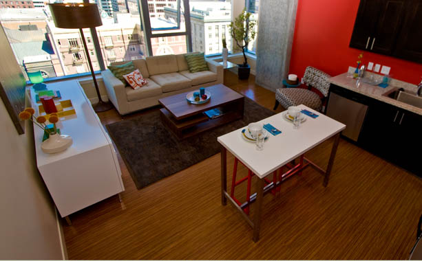 Downtown Portland apartments for rent by Holland Residential.