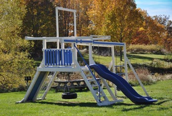 Portage Pointe Apartment Homes has a playground