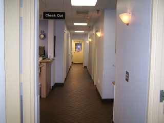 Hallway and check out Quail Corners Animal Hospital