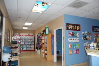 Front lobby and reception Discovery Bay Veterinary Clinic