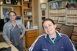 Nicole and leanne Discovery Bay Veterinary Clinic