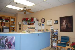 Reception area Discovery Bay Veterinary Clinic