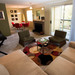 Living room in apartments for rent at StonePoint University Place Thumb