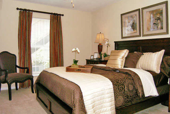 Two bedroom apartments at The Abbey at Briar Forest