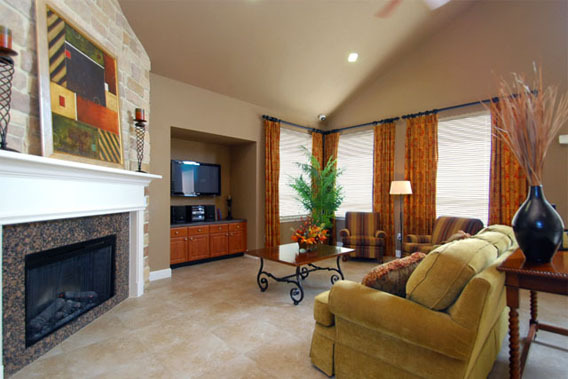 Luxury apartment homes houston The Abbey at Briar Forest